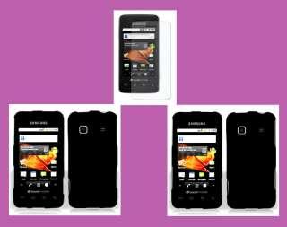 PROTECTOR+2 BLK* Straight Talk Samsung Galaxy Precedent SCH M828C Case