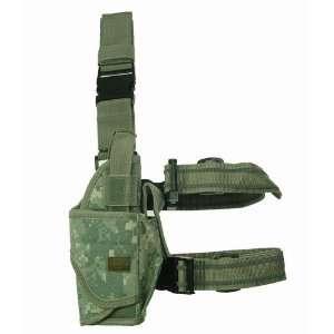ACU Digital Camo Tornado Tactical Leg Holster Right Hand Gun / Pistol