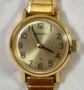 1971 Vintage Seiko Ladies Round Watch Ready to Wear
