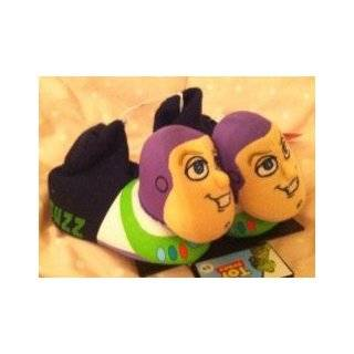 Disney Toy Story Buzz Lightyear Plush Comfy Socktop Slippers Shoes
