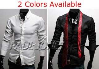 2011PJ Mens Fashion Fit Dress Shirts Formal Buttons HOT