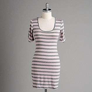 Womens Striped Long Sleeve Shirt Dress  Speechless Clothing Womens