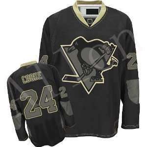 2012 New NHL Pittsburgh Penguins#24 Cooke Dark blue Ice Hockey Jerseys