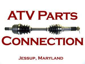 1999 Yamaha Big Bear 350 4x4 ATV OE Front CV Axle