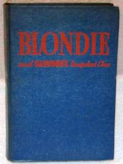 BLONDIE AND DAGWOODS SNAPSHOT CLUE 1943 VINTAGE BOOK