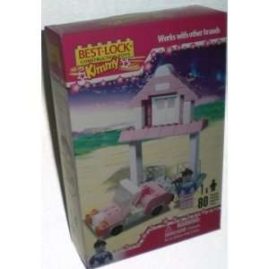 Girls Play House With Car 80 Pc Best Lock Construction