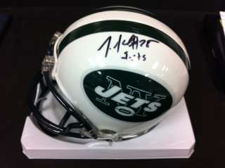 Joe McKnight Autographed Football Mini Helmet Auto Signed Inscribed