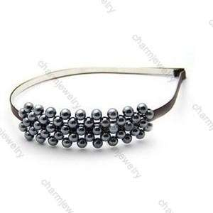 ROWS OF BEAD WEDDING BRIDAL HAIR PIN HAIRPIN HEAD HOOP FOR GIRL LADY
