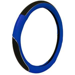 Accessories 39771 Blue Sport with Chrome Accent Steering Wheel Cover