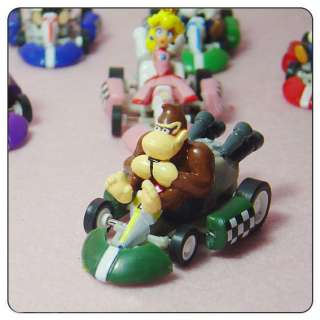 NEW Super Mario Bros 2Lot 6 Pull Back Car Kart Figure M002