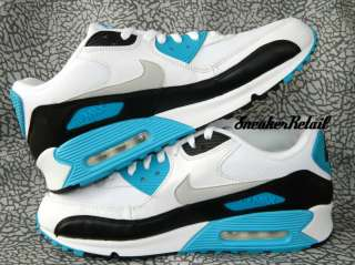 Nike Air Max 90 Laser Blue White Mesh 325018 108 Neon 95 Infrared 1 I