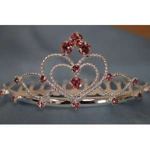 (SMALL)Elegant Bridal Wedding Tiara Crown with Crystal