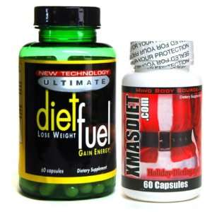 DIET FUEL ULTIMATE 60 count Original Diet Fuel Xmas Christmas Holiday
