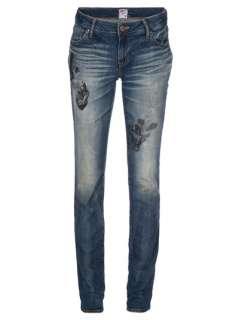 Prps Printed Slim Fit Blue Jeans   Penelope   farfetch