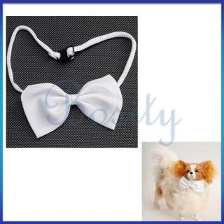Adjustable Bow Tie Necktie Collar for Suit Formal Wear Costume