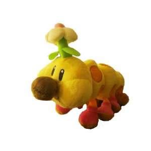Super Mario Brothers Hanachan/Wiggler 15 Plush Toy Doll
