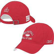 Pro Football Hall of Fame New York Giants Arch Logo Hat