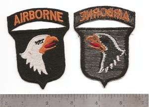 035 US ARMY 1O1ST AIRBORNE DIVISION COMBAT PATCH