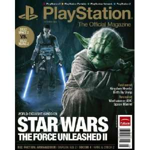The Official Magazine October 2010 Playstation authors Books