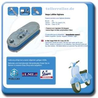 Vespa Luftfilter PX 80 125 150 GTR TS Cosa 1/2