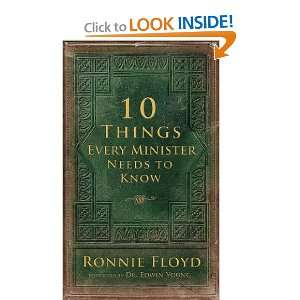 Ten Things Every Minister Needs to Know (9780892216550