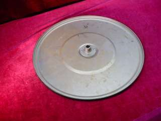 Vintage Turntable Plate SONORA HAND CRANK PHONOGRAPH PART Victrola