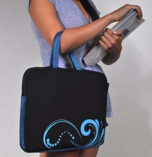 16 BLUE Laptop Notebook Carrying Bag Case Sleeve