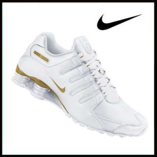 Nike Shox NZ white/gold