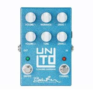 unLimiTeD Dual Channel Overdrive FX Pedal Musical Instruments