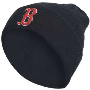 Boston Red Sox   Logo Navy Cuff Beanie