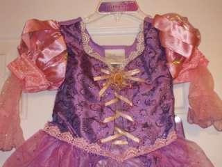 RAPUNZEL TANGLED COSTUME DRESS XXS 2/3 NEW