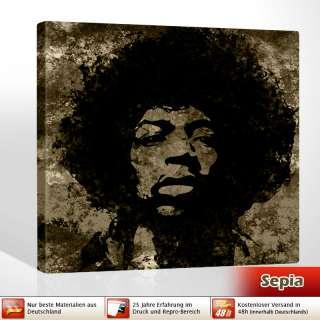 Pop Art Hendrix power art Deko 80x80cm Jimi Hendrix Art