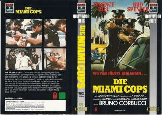 VHS) Die Miami Cops   Terence Hill, Bud Spencer, Richard Liberty