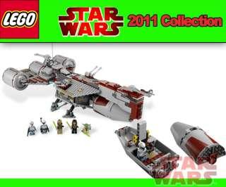 LEGO STAR WARS 7964 Republic Frigate™ Yoda, Eeth Koth, Quinlan Vos