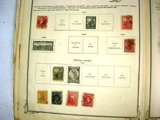 US/WW, CHINA, 1000+ Stamps in 1911 Scott International(1901 1908)No