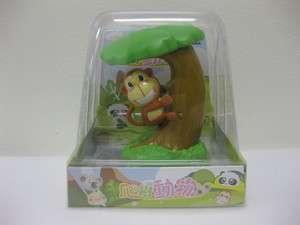 NEW * Monkey On Tree Flip Flap Solar Powered Moving
