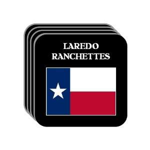 US State Flag   LAREDO RANCHETTES, Texas (TX) Set of 4 Mini Mousepad