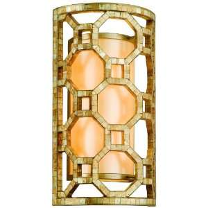 Regatta Collection 2 Light 17 Stained Silver Leaf Wall Sconce with