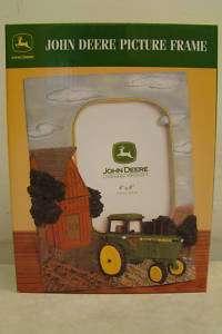 John Deere 4 x 6 Farm Scene Photo Frame