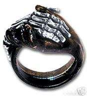 Alchemy Gothic Deadly Friendship Ring