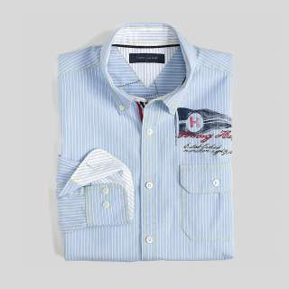 Tommy Hilfiger SAILING PRINTED SHIRT