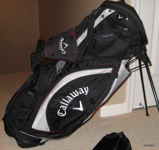 Callaway STC Stand Carry Golf Bag Backpack Shoulder Straps