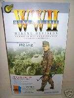 DRAGON WWII GERMAN WAFFEN SS WIKING DIVISION HEINZ 1945