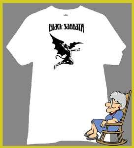 BLACK SABBATH T Shirt FLYING EVIL DEVIL ANGEL LOGO