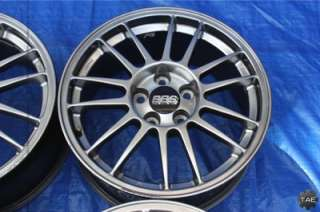 2006 MITSUBISHI LANCER EVOLUTION MR SE OEM POLISHED BBS FORGED WHEELS