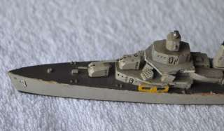Germany D. Zeist 3rd Reich Era Vintage Wooden Military Ship SUPER TOY
