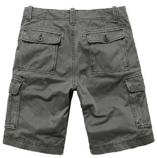 NEW Men Athletic Casual Military Style Cargo Pirate Shorts Short Pants