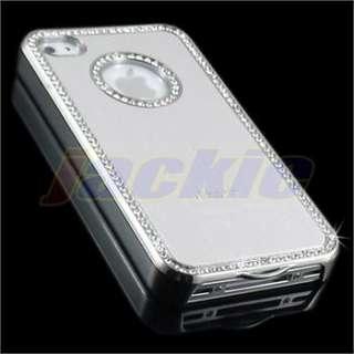 Bling Diamond Luxury Metal Aluminum Chrome Hard Case Cover For