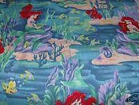 Ariel Little Mermaid Disney Blanket Handmade
