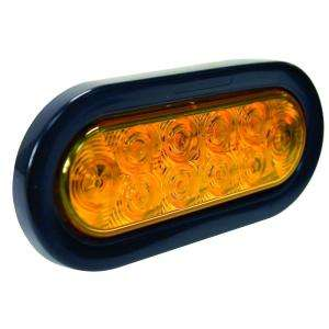 Blazer International Park/Turn Signal 6 IN. LED Oval Light Amber With